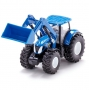 TRATTORE NEW HOLLAND T7070 CON PALA - SCALA 1:50 METAL